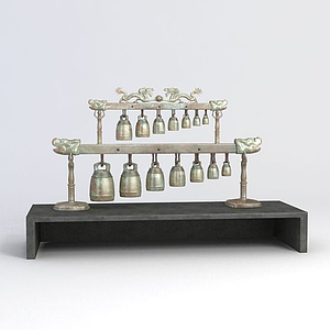 青銅編鐘模型