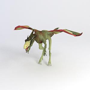 翼龍恐龍模型