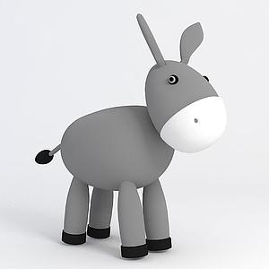 小毛驢模型