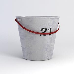 復古鋁桶模型