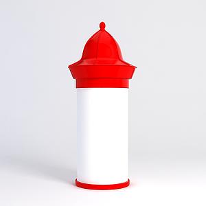 節日裝飾柱子模型