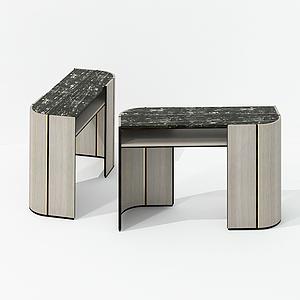 現代設計型邊柜裝飾柜模型