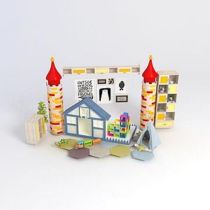 積木玩具組合模型