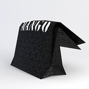 包裝袋模型
