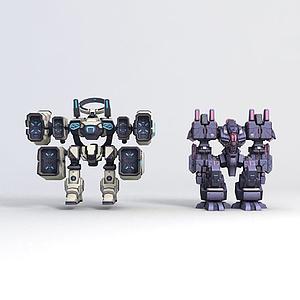 3d主角崩壞3-<font class='myIsRed'>機器人</font>模型