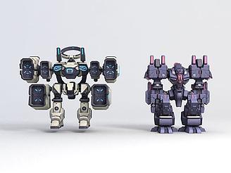 3d主角<font class='myIsRed'>崩壞3</font>-機器人模型