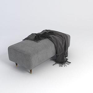 沙發凳模型
