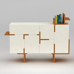 簡約柜子模型