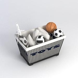 玩具收納箱模型