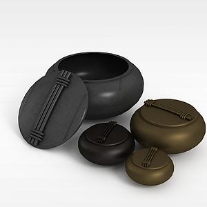 陶藝器皿模型