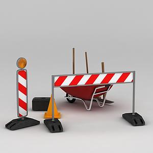 道路設施模型