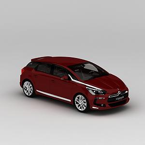3d紅色<font class='myIsRed'>汽車</font>模型