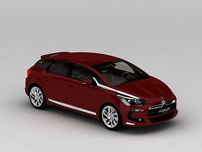 3d<font class='myIsRed'>紅色</font>汽車模型