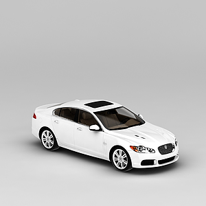 3d白色<font class='myIsRed'>汽車</font>模型