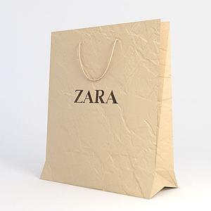 紙質包裝袋模型