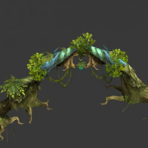 游戲植物模型