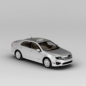 3d银色<font class='myIsRed'>汽车</font>模型