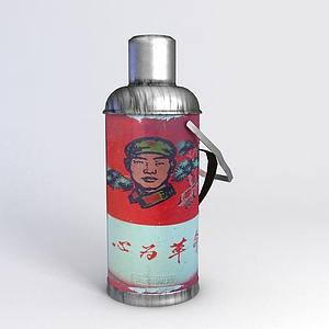 懷舊紅軍熱水壺模型