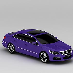 3d紫色<font class='myIsRed'>汽車</font>模型
