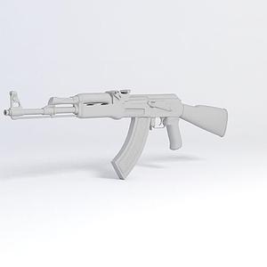 AK47槍械模型