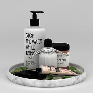 洗漱用品模型