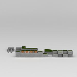道路綠化模型