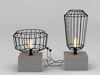 小燈飾模型