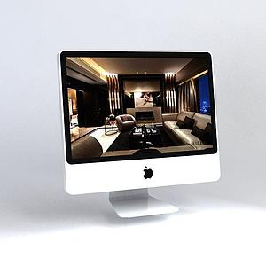 蘋果顯示器模型