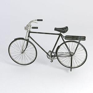 大梁自行車模型