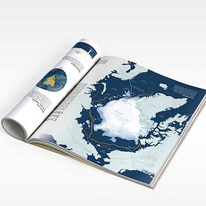地理書模型