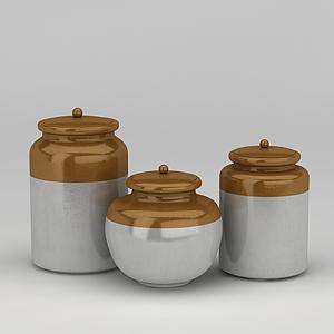 陶瓷器皿模型