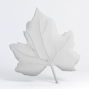 樹葉雕花模型