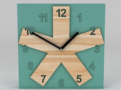墻壁時鐘模型