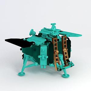 玉兔探月車模型