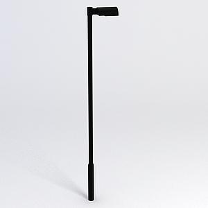 道路路燈模型