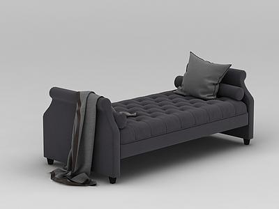 沙發榻模型3d模型
