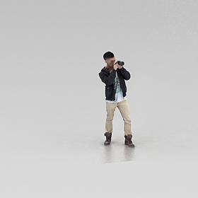 時尚男孩模型
