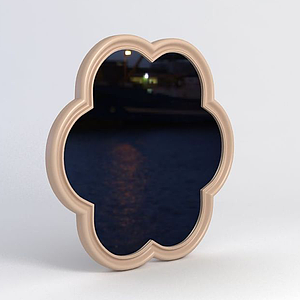 花形鏡子模型