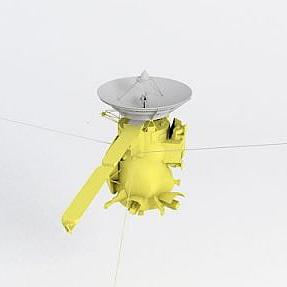 卡西尼號探測器模型