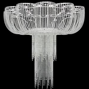 現代水母水晶吊燈模型