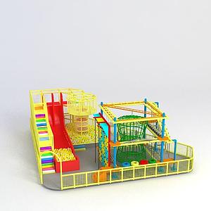 拓展設備淘氣堡模型