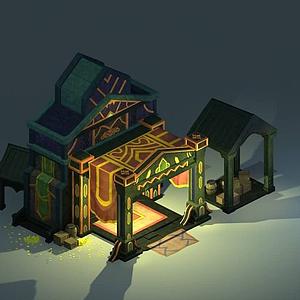 游戲房屋模型