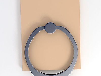 3d手機環扣支架模型