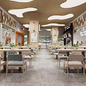 3d商场超市模型