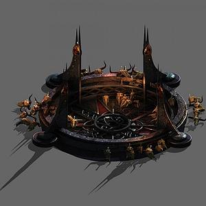 祭坛3d模型
