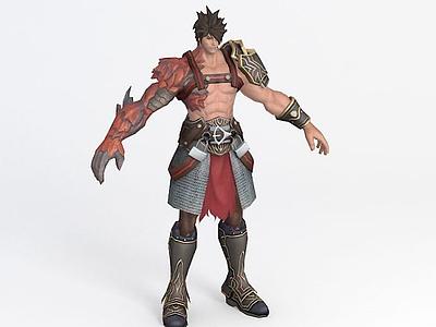 3d風暴英雄人物角色模型