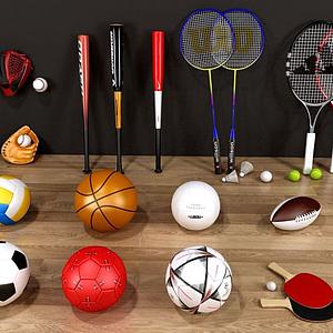 體育球類模型