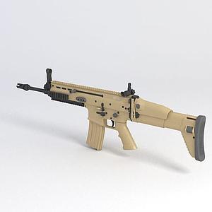 突擊步槍模型