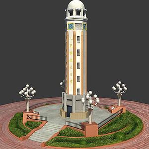 人民解放紀念碑模型