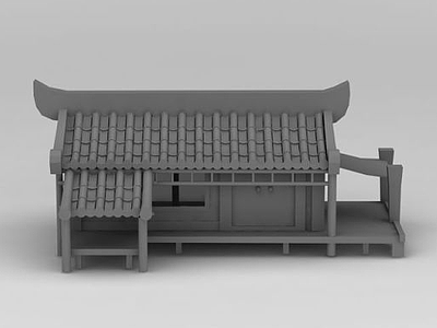 3d古代<font class='myIsRed'>房子</font>模型